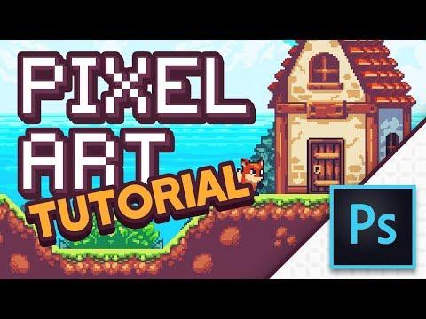 PIXEL ART in Photoshop (Tutorial)