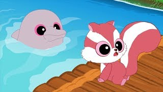 Мультики - Юху и его друзья - До свиданья, розовый дельфин! + Подводная лодка Руди