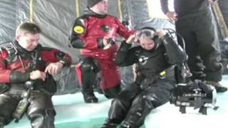 Ice Diving in Minnesota 1