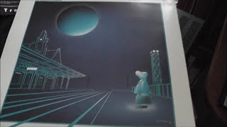 "ANGE ""La gare de Troyes"" - vinyl LP 1983 Marantz 1090"