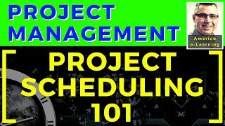 Lesson 2 - Project Scheduling 101 -  Project schedule network diagram and Gantt Chart  from the WBS