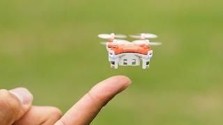 Самый маленький в мире дрон квадрокоптер с камерой для видео! Новые технологии