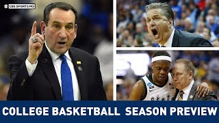 College Basketball Season Preview, Predictions 2019-20: Michigan State WILL WIN Title |CBS Sports HQ