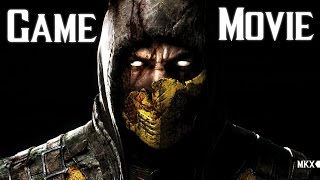 Mortal Kombat X All Cutscenes 60FPS Game Movie 1080p HD