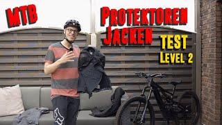MTB Protektorenjacke Test - Evoc Protector Jacket Pro & POC SPINE VPD 2.0   Protektoren Jacke Level2