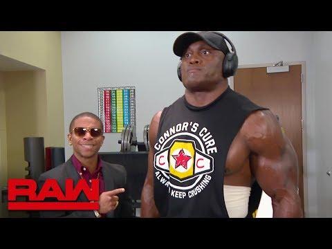 Lio Rush motivates Bobby Lashley: Raw, Sept. 10, 2018