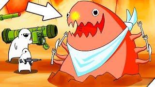 ИНОПЛАНЕТНЫЕ СУЩЕСТВА МОНСТРЫ - Missile Dude RPG: Tap Tap Missile # 1