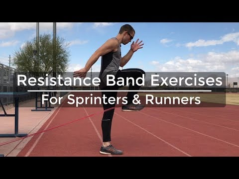 High-Knee Sprint With Resistance Band