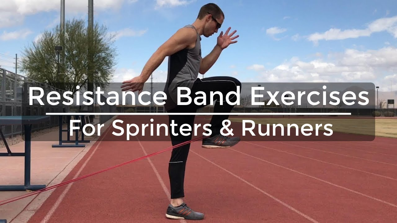 Resistance Band Exercises For Sprinters