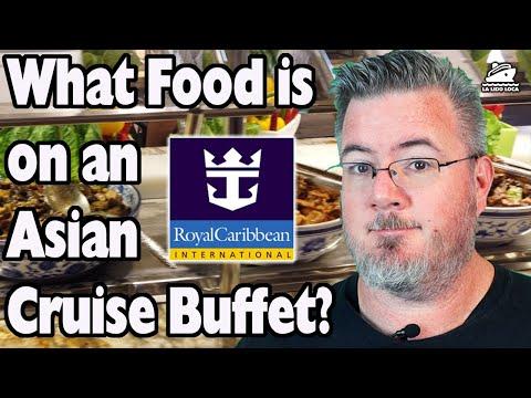 Royal Caribbean Cruise Buffet Tour - Asian Cruise Food - Spectrum of the Seas Buffet