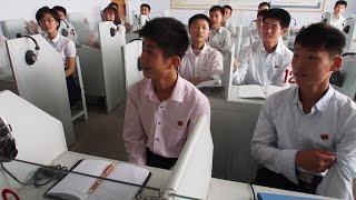 Visiting School in North-Korea