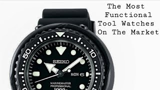 Most Functional Tool Watches On The Market