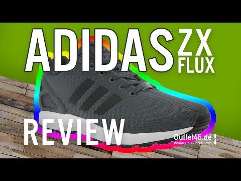 adidas ZX Flux l der TOP Basic-Sneaker?  DEUTSCH l Review l On Feet l Overview l Outlet46   01