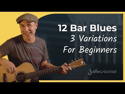 How to Play 12 Bar Blues on Guitar for Beginners - YouTube