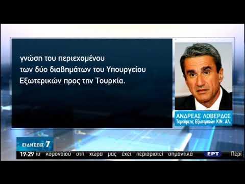 Νέες προκλήσεις της Άγκυρας- «Δεν σηκώνει το γάντι» της έντασης η Αθήνα | 24/05/2020 | ΕΡΤ