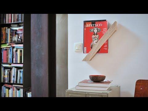 Project Tutorial: Zeitschriftenhalter selber bauen. Step-by-step.