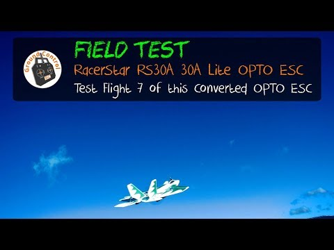 Field Test Flight #7 - RacerStar RS30A 30A Lite OPTO ESC