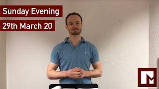 29th March – PM
