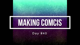 100 Days of Making Comics 40