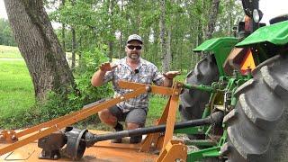 Tractor University: Proper Mower Deck Setup for Brush Hogging