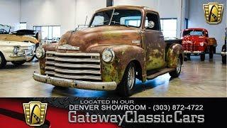 1949 Chevrolet 3100 #422 Denver - Gateway Classic Cars