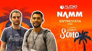 Audioproduccion checks out Audient's SONO at NAMM