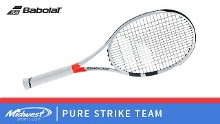 Ρακέτα τέννις Babolat Pure Strike Team video