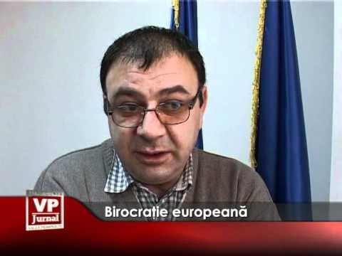 Birocraţie europeană