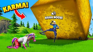 TOP 100 INSTANT KARMA MOMENTS IN FORTNITE (Part 7)