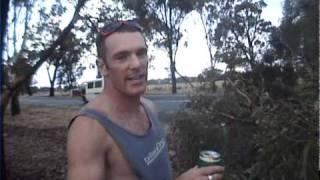 "The beer tree. Chris ""Douggs"" McDougall BASE"