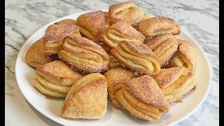 """Идеальное Творожное Печенье """"Конвертики"""" Очень Вкусно!!! / Cottage Cheese Cookies"""