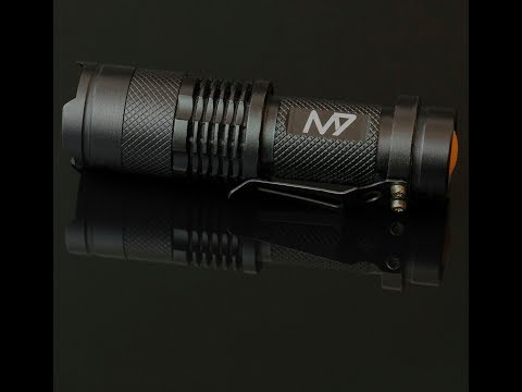 $10 M7 Tactical Flashlight Review