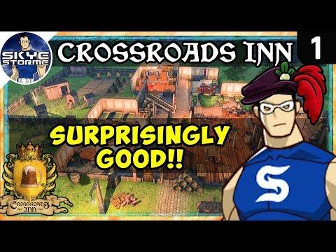 Gameplay de Crossroads Inn