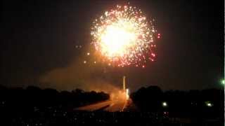 4th Of July 2012 Fireworks In HD, Washington DC - National Mall - USA (Part-01)