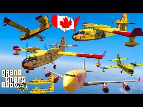 gta-v-canadair-cl415-plane-best-extreme-longer-crash-and-fail-compilation