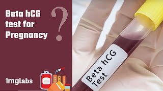 What is Beta hCG test for Pregnancy?   1mg