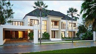 Video Desain Rumah Villa Bali 2 Lantai Bapak Yudi di  Kutai Kartanegara
