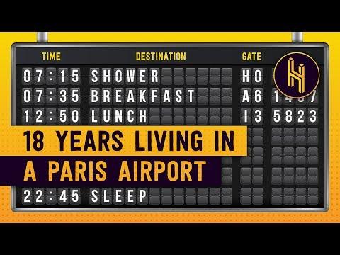 Muž, který na 18 let uvízl na pařížském letišti