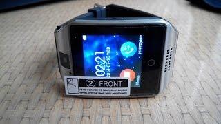 """Умные часы Smart watch Q18 (черный) от компании """"Магазин Все, Что Нужно"""" - видео"""