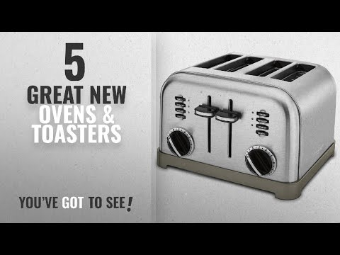 , Cuisinart CPT-340 Compact Stainless 4-Slice Toaster, Brushed Stainless