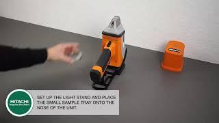 Πως να Ετοιμάσετε το Δείγμα σας για Έλεγχο με τον Φασματογράφο X-MET 8000 HITACHI