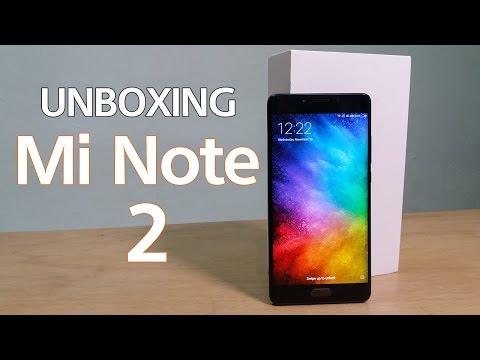 Unboxing Mi Note 2 Indonesia - Mewah Banget