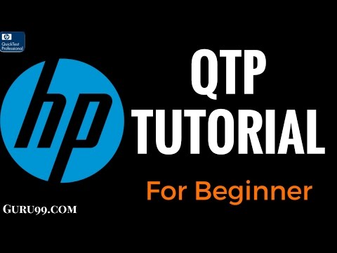 HP UFT/QTP Tutorial for Beginners - YouTube