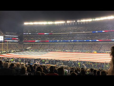 NFC championship national anthem!