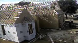 New House - Framing Time Lapse