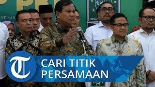 Bertemu dengan Cak Imin, Prabowo: Pertarungan Selesai, Kita Harus Cari Titik Persamaan