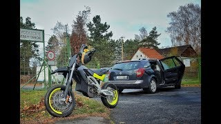 Electric E-SXV Supermoto