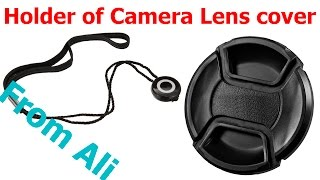 Holder of Camera Lens cover from AliExpress
