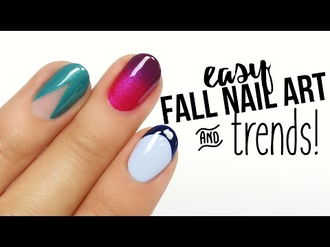 Easy Fall Nail Art & Trends!