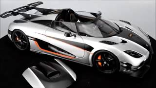 AUTOart Koenigsegg One:1 (Moon Grey/Black Carbon w/Orange)